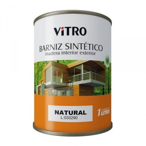 Pint. Barniz int-ext 1.00 lt NATURAL